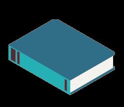 Illustration livre bleu