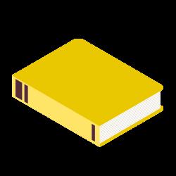 Illustration livre jaune
