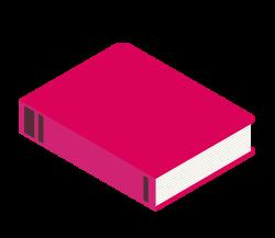 Illustration livre rouge