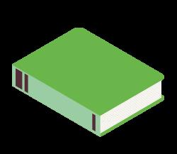 Illustration livre vert